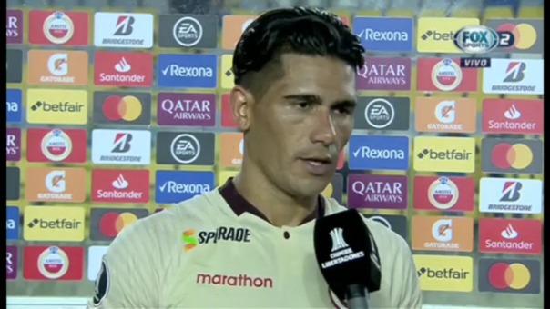 Estas fueron las palabras de Dos Santos tras el empate ante Carabobo