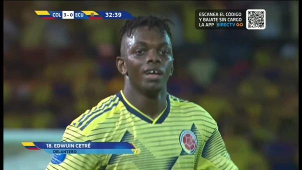 Así fue el gol de Edwuin Cetré.