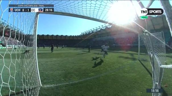 Así fue el gol de Marcos Bolados contra la Universidad de Chile.