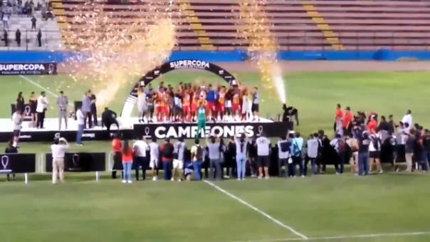 Atlético Grau es campeón de la Supercopa Peruana de Fútbol