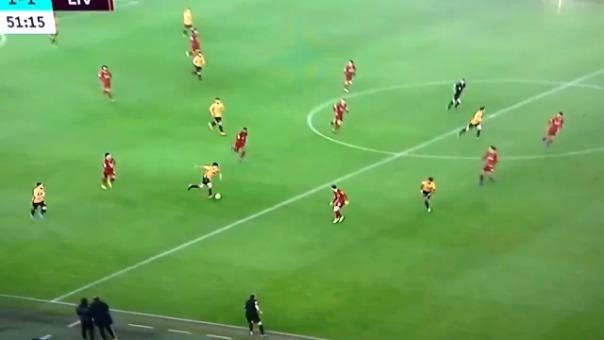 Así fue el gol de Raúl Jiménez con el Wolverhampton