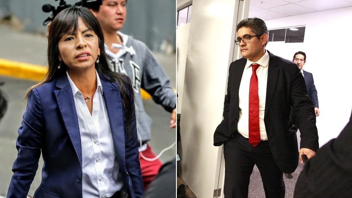 Giulliana Loza cuestionó al fiscal Pérez.