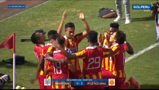 Atlético Grau se coronó campeón de la Supercopa Peruana
