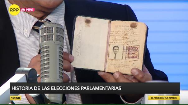 La historia de las elecciones parlamentarias.