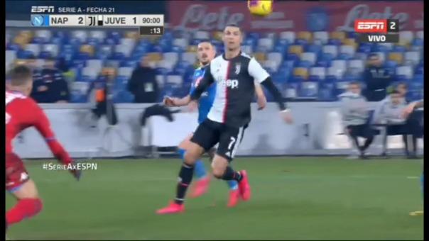 Así fue el gol de Cristiano Ronaldo.