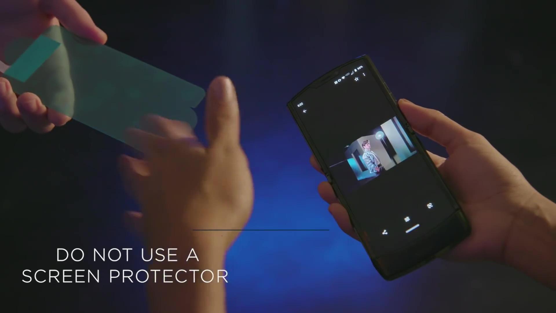 Recomendaciones para los usuarios del Motorola RAZR.
