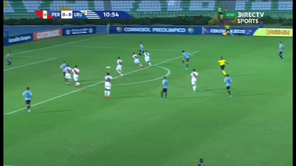 Así fue el gol de Francisco Ginella contra Perú.