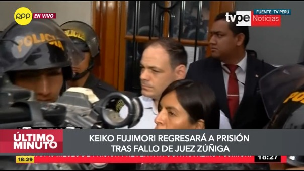 Giulliana Loza criticó duramente el fallo del Poder Judicial.