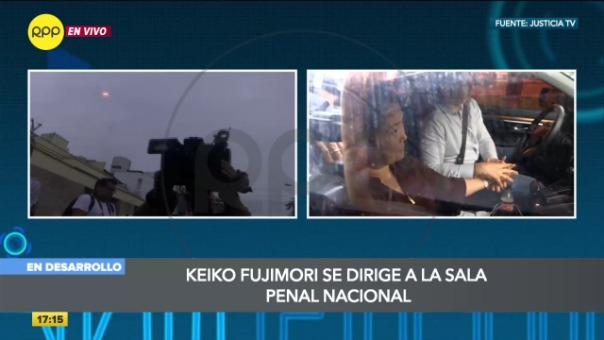 Keiko Fujimori, investigada por el caso Odebrecht.