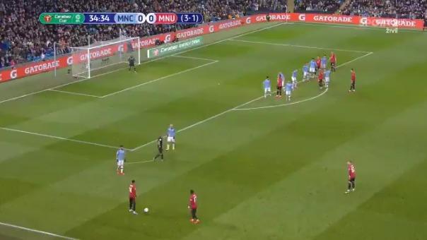 Así fue el golazo de Matic para el Manchester United