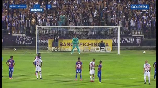 Así fue el primer gol de Lionard Pajoy contra Alianza Lima.