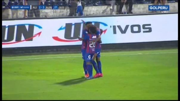 Así fue el segundo gol de Lionard Pajoy ante Alianza Lima.