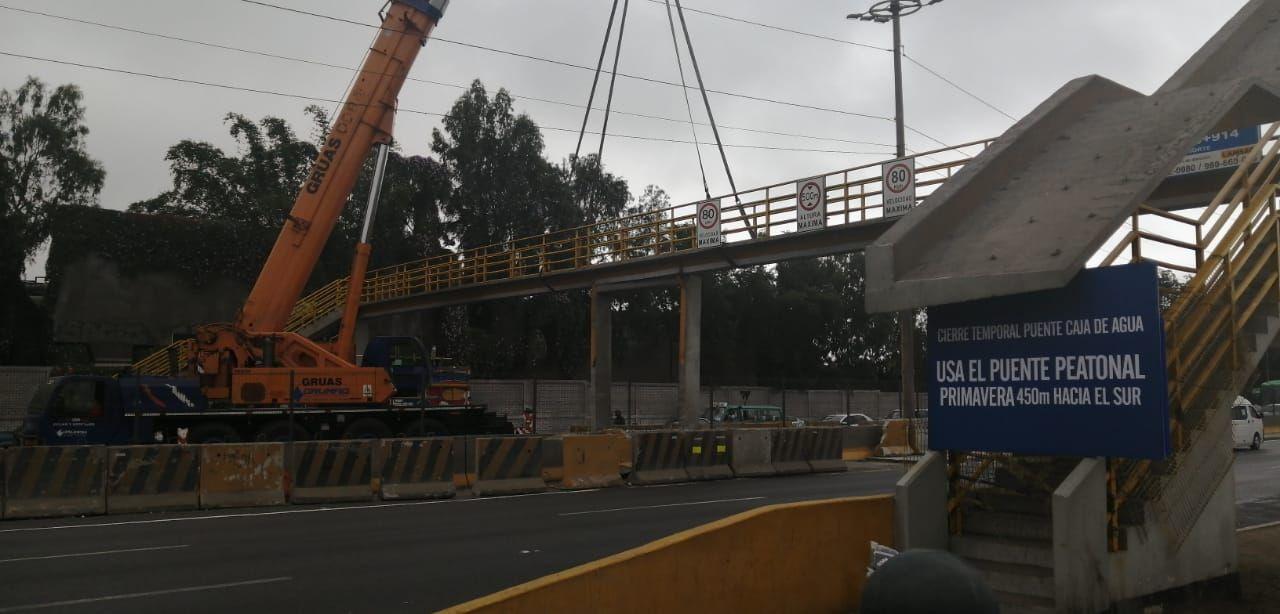 RPP Noticias llegó esta mañana a El Agustino para comprobar el estado del puente, ubicado a la altura del kilómetro 5.5 de la Vía de Evitamiento.