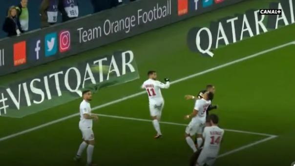 Así fue el autogol de Daniel Congré contra el PSG.