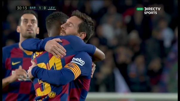 Así fueron los dos goles de Ansu Fati.