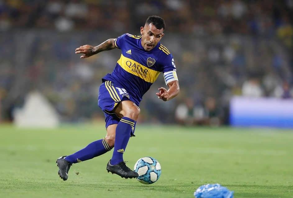 11. Carlos Tévez (Delantero).