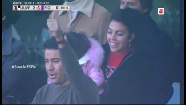 Así celebró Georgina Rodríguez.