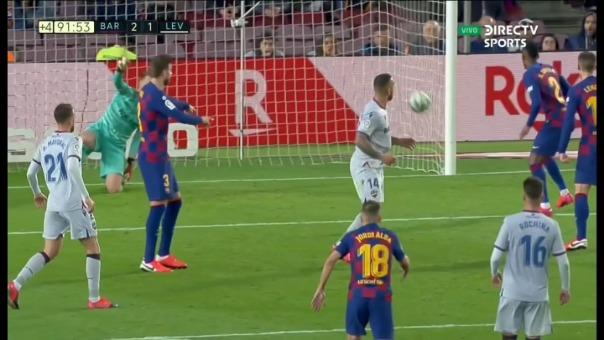 Así fue el gol de Rubén Rochina frente al Barcelona.