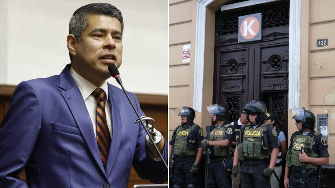 Fiscal Pérez investiga los aportes de Fuerza Popular.