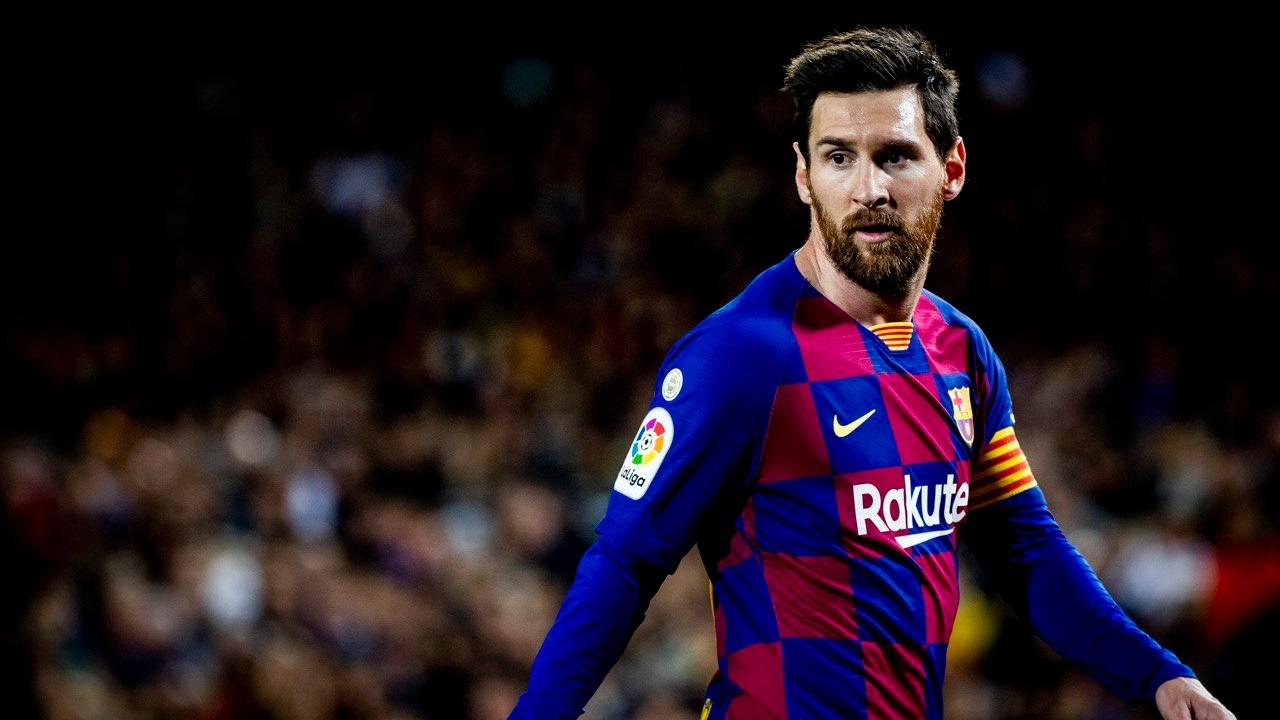 Lionel Messi es el capitán del Barcelona.