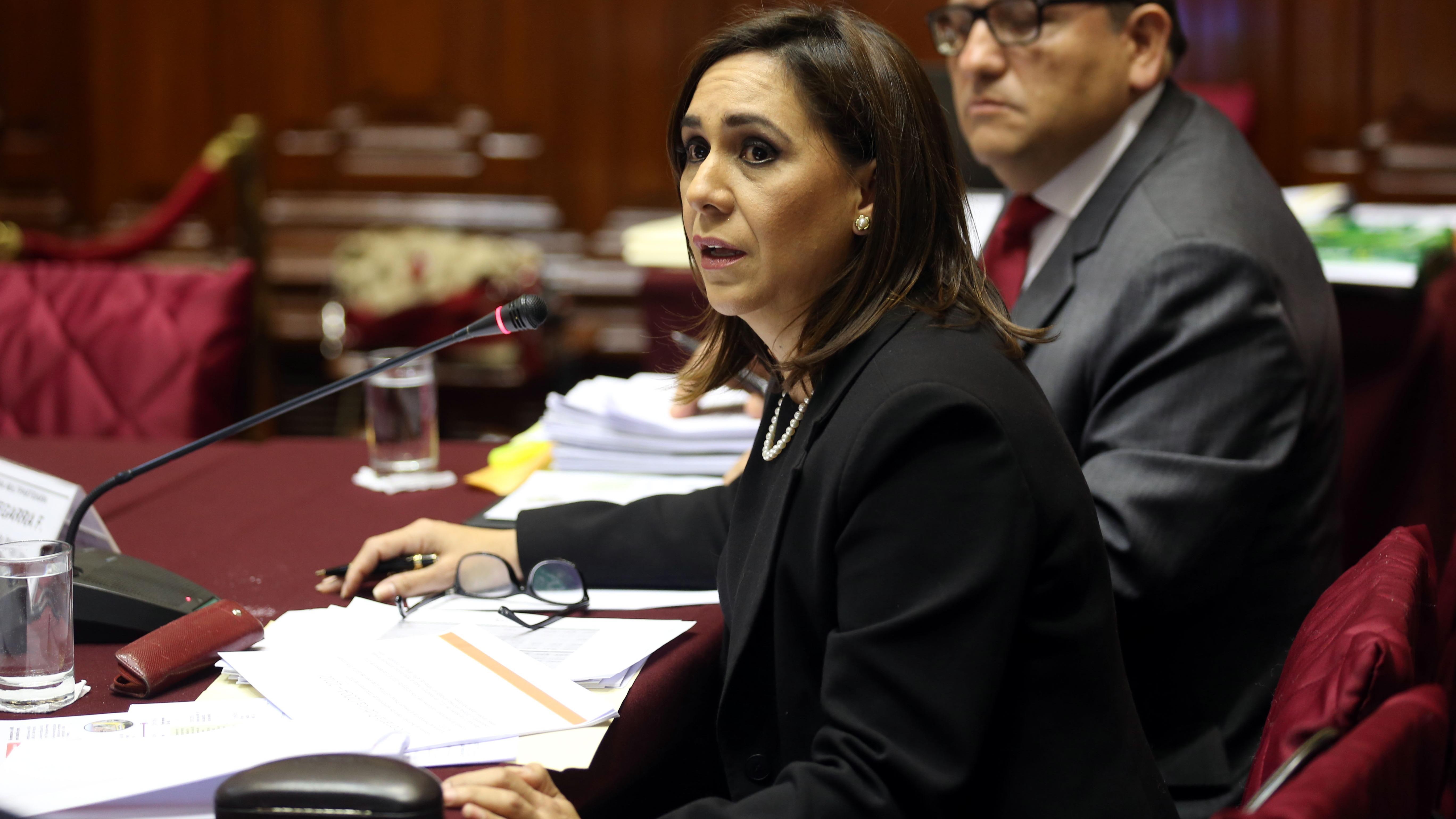 Giselle Zegarra, exgerente de Promoción de la Inversión Privada de la Municipalidad de Lima.