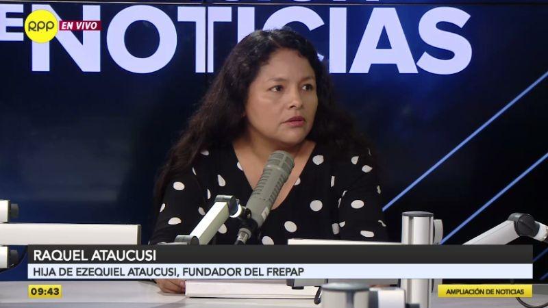 Raquel Ataucusi estuvo esta mañana en Ampliación de Noticias.