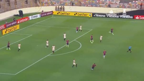 Universitario empató 1-1 con Cerro Porteño por la Copa Libertadores