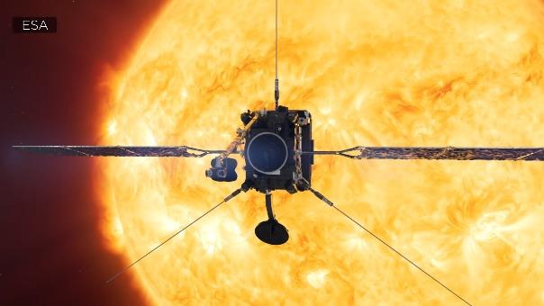 Video que explica el objetivo de la misión Solar Orbiter.