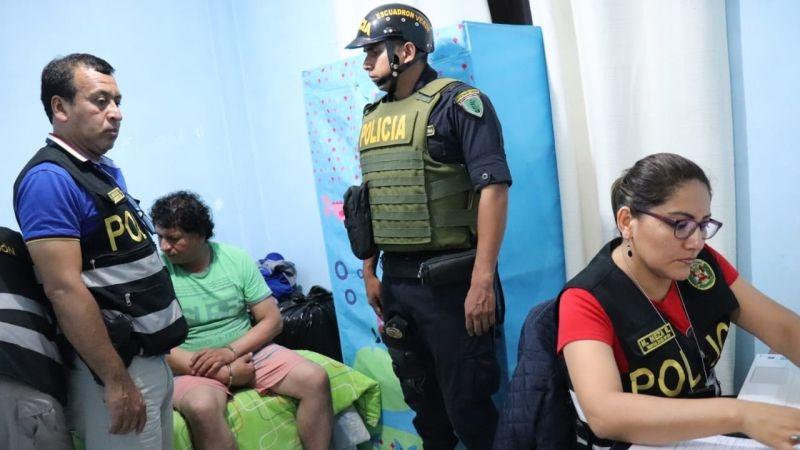 José Delgado Heredia fue detenido esta madrugada en un megaoperativo.