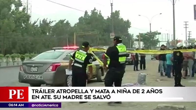 El accidente ocurrió a la altura del kilómetro 16.5 de la Carretera Central, en Ate.