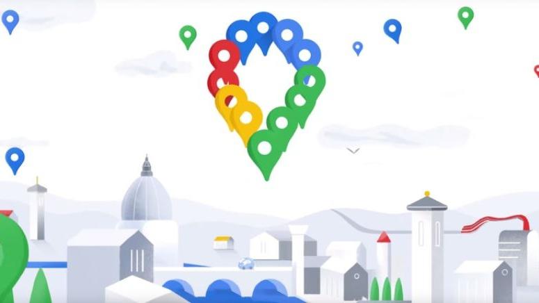 Así se transformó el logo de Google Maps a través de los años.