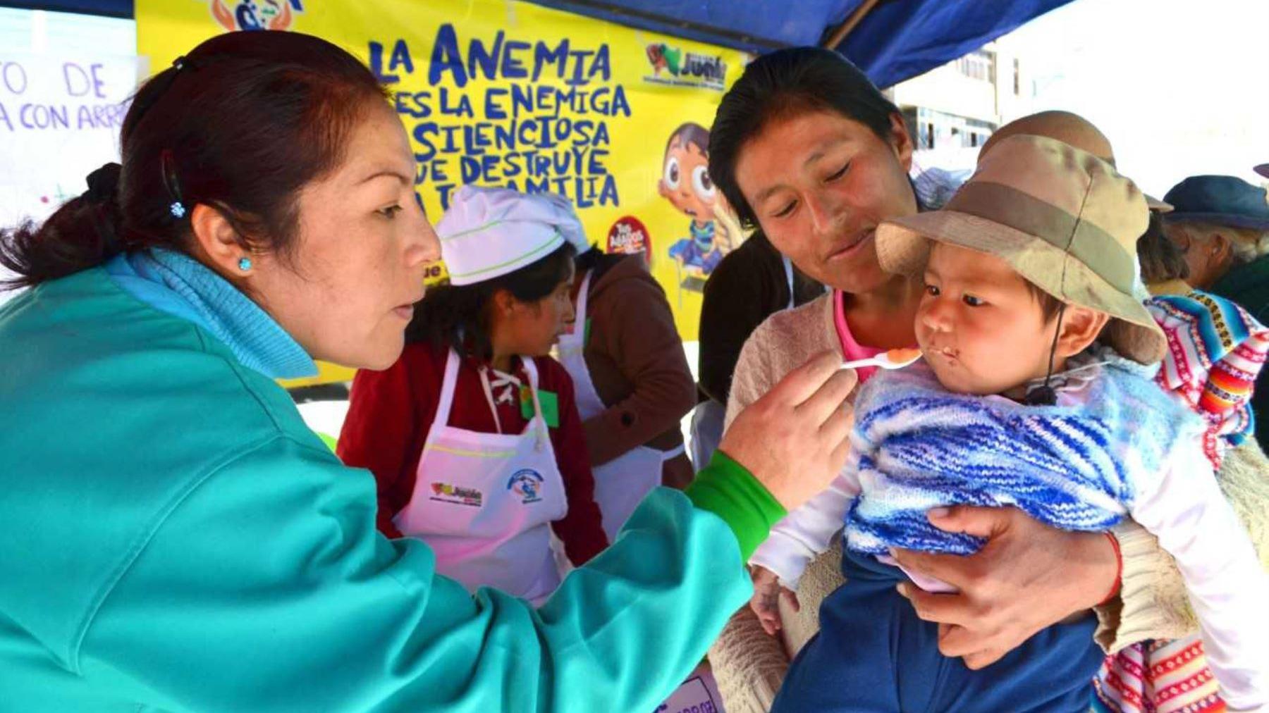Según el INEI, la anemia de 6 meses a tres años de edad registró el año pasado una incidencia de 40.1%.