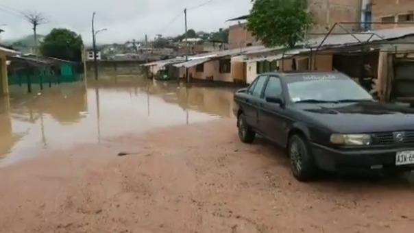 Decenas de viviendas resultaron afectadas por las inundaciones.