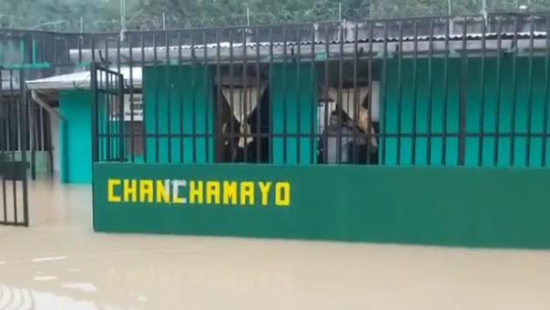 Así lucen los ambientes de la unidad de Seguridad Interna de la Policía de Chanchamayo.