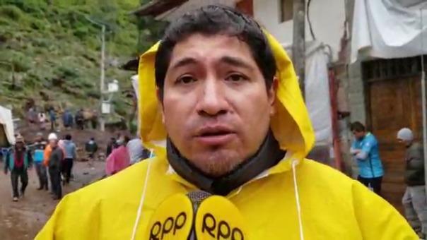 El alcalde Federico Zamalloa habló en exclusiva para RPP Noticias.