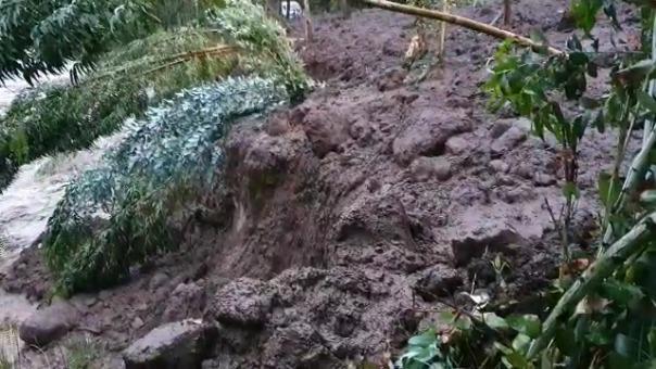 Las lluvias continúan en Cusco y podrían producirse más desbordes.