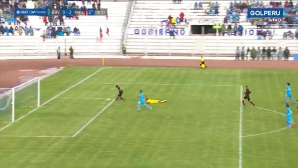 Así fue el gol de Alexis Arias frente a Binacional.