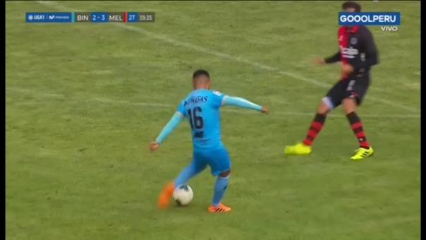 El gol de Roque Guachiré en la caída de Binacional ante Melgar.