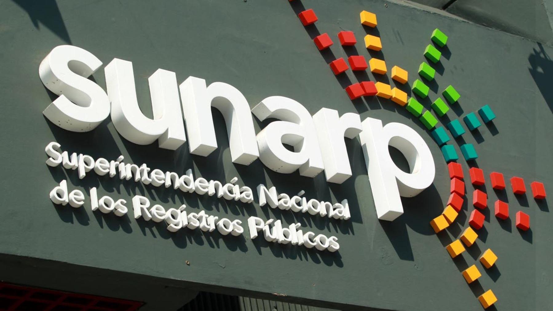 Sunarp realizará huelga a nivel nacional.