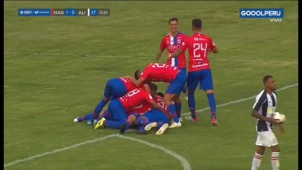 Así fue el gol de Sebastián Ramírez.