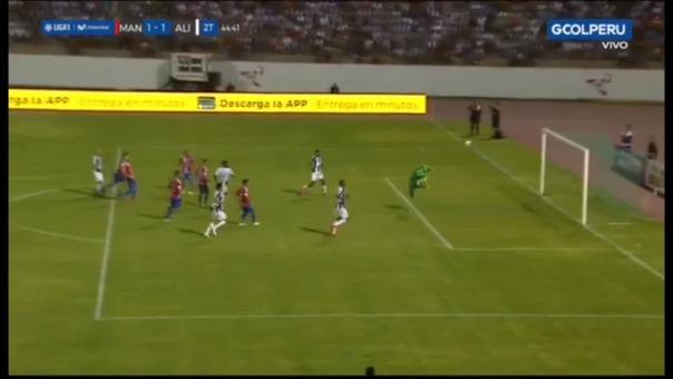 Así fue el gol de Federico Rodríguez contra Carlos A. Mannucci.