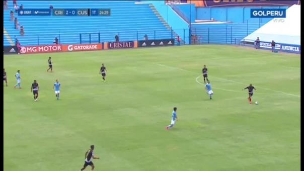 Sporting Cristal versus Cusco FC.