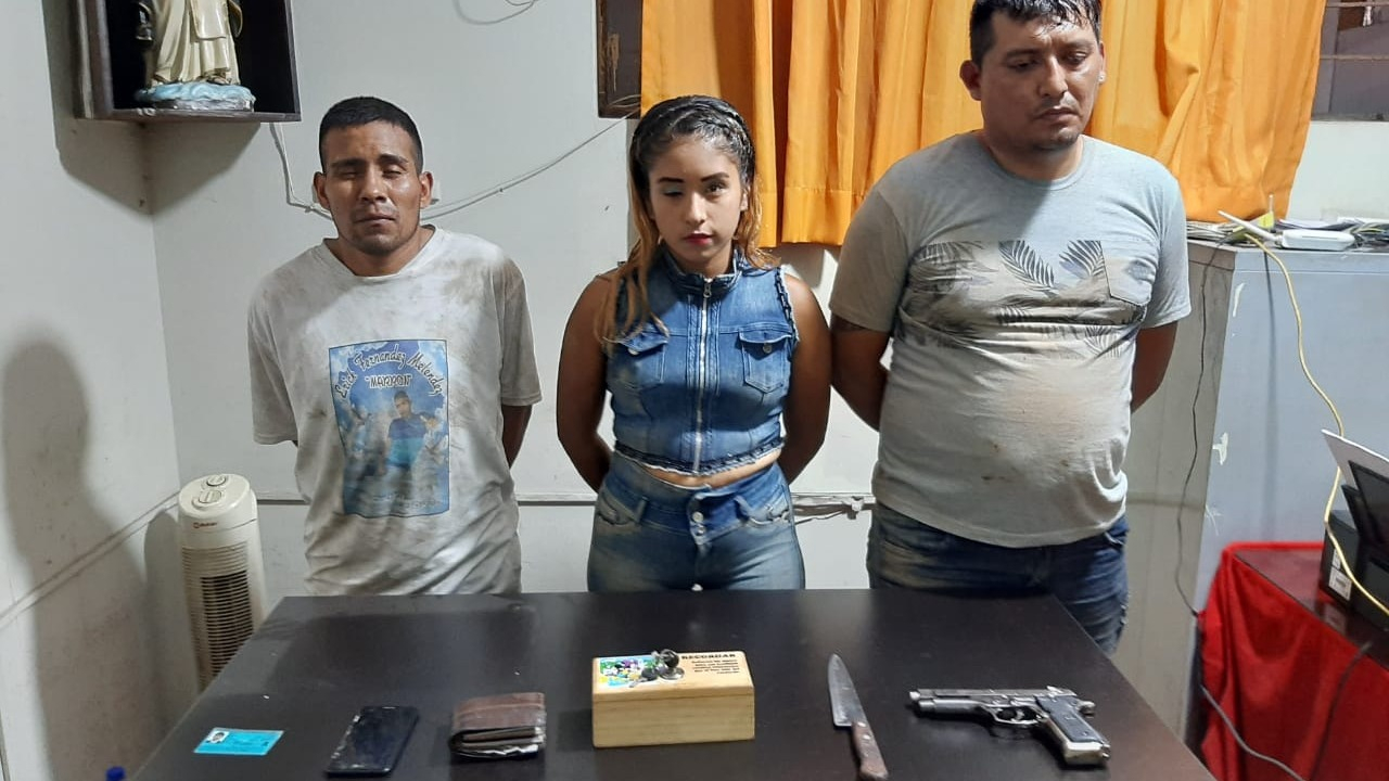 Integrantes de la banda banda delincuencial