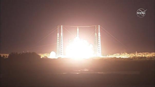 Lanzamiento del Solart Orbiter a bordo del cohete United Launch Alliance Atlas V.