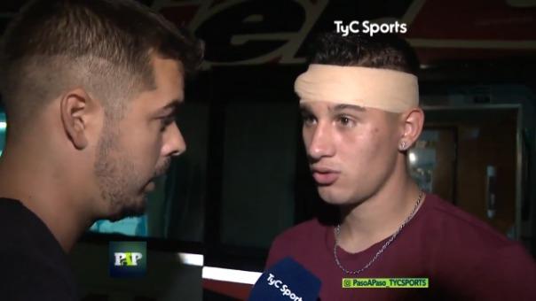 Lautaro Valenti contó a TyC Sports los momentos de terror que vivió cuando fue secuestrado.