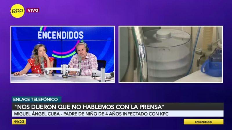 Miguel Ángel Cuba hizo su denuncia en el programa Encendidos.