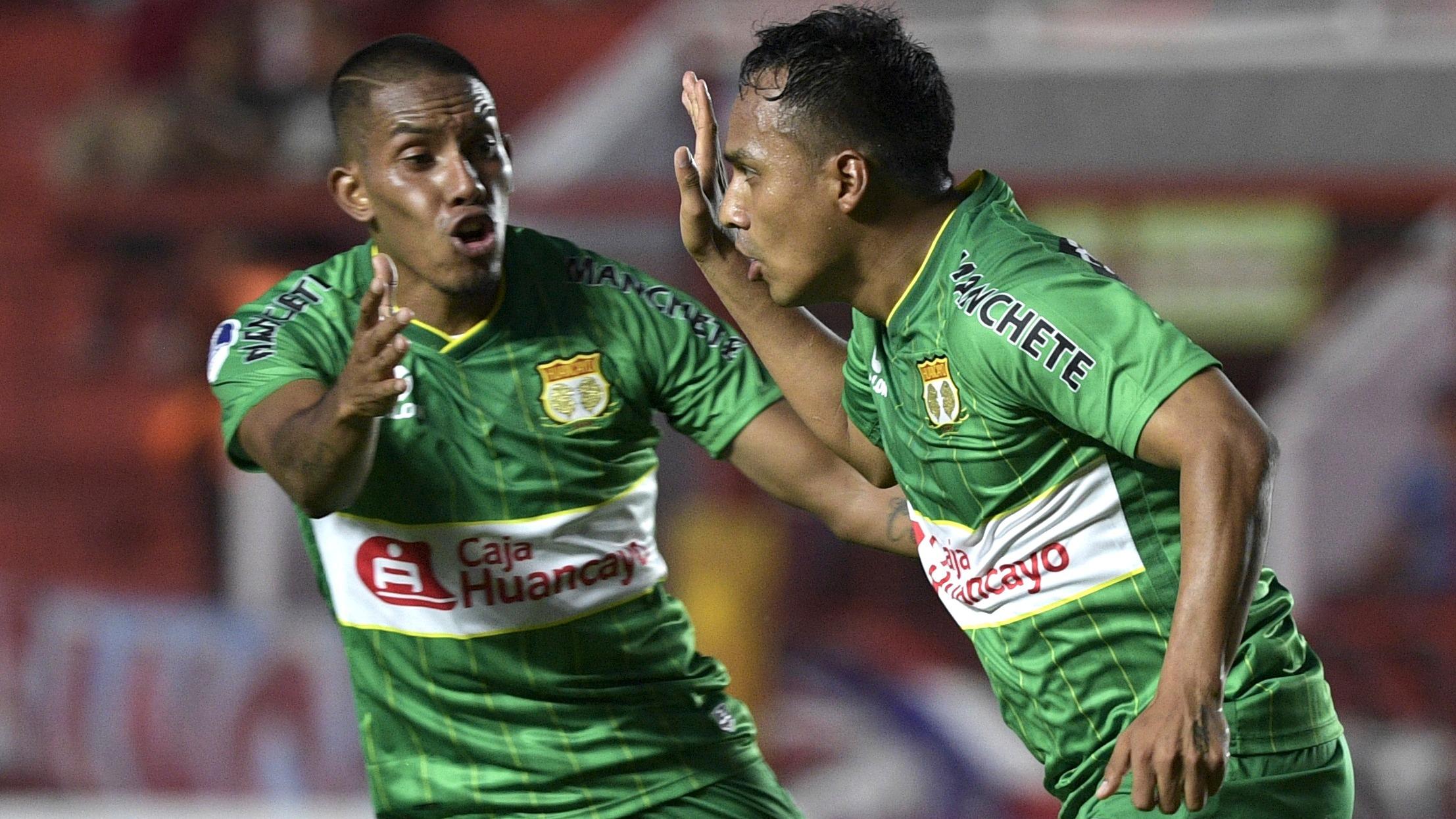 Marcos Lliuya anotó el gol de Sport Huancayo