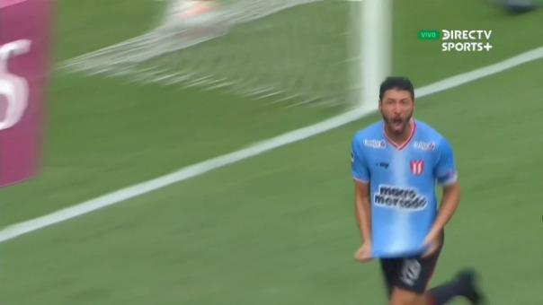 Así fue el gol de Juan Manuel Olivera ante Atlético Grau.