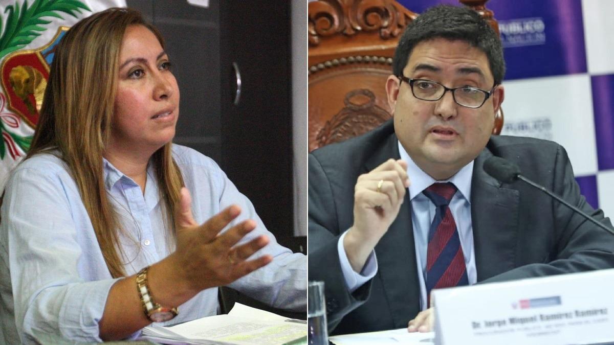 Ampuero cuestionó la actuación del procurador Ramírez.