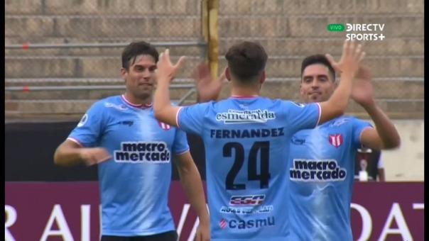 River Plate de Uruguay venció 2-1 a Atlético Grau por la Copa Sudamericana
